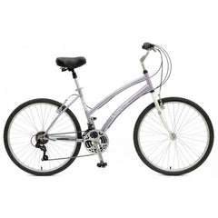 Mantis Premier 726L Women's Step Through Comfort Bicycle - Silver - Buy Online