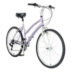 Mantis Premier 726L Women's Step Through Comfort Bicycle - Silver
