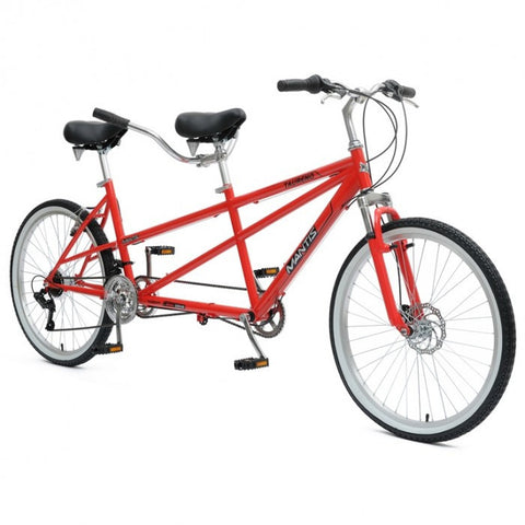 "Mantis Taureno 26"" 18 Speed MTB Tandem Bicycle - Buy Online"
