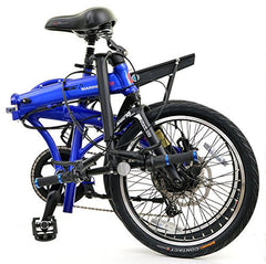 PRODECOTECH MARINER 500 V5 9 Speed Folding Electric Bicycle - 500W
