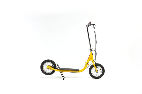 SIDEWALKER MICRO Foldable Adult Scooter, BLACK/WHITE/YELLOW - Buy Online