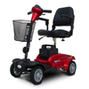 Image of EV RIDER MINIRIDER ELECTRIC MOBILITY SCOOTER, RED/BLUE, EV-MR - Buy Online