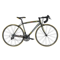 Lombardo Monza 2.0 700C Men'S Road Bike, 99% Assembled, Anthracite/Yellow - Buy Online