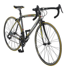 Lombardo Monza 2.0 700C Men'S Road Bike, 99% Assembled, Anthracite/Yellow