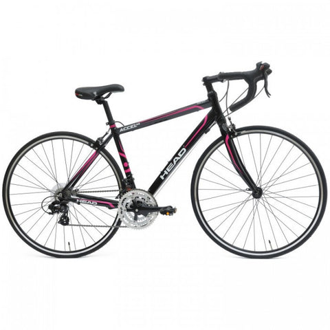 Head Accel Nxl 700C 21 Speed Road Bike, Black - Buy Online