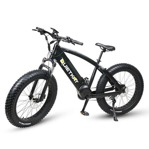 2018 Quietkat Fatkat Ambush 48V 750W Fat Tire Electric Bike, 18QKM750CCHM - Buy Online