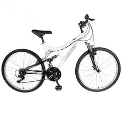 "Mantis Orchid 26"" 21 Speed Full Suspension Womens Step Through Bicycle - Buy Online"
