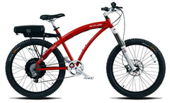 PRODECOTECH OUTLAW 1200 9 Speed Rigid Frame Electric Bicycle - 1200W