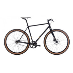 "Bombtrack Outlaw 27.5"" Wheel Urban City Bicycle, Matte Black - Buy Online"