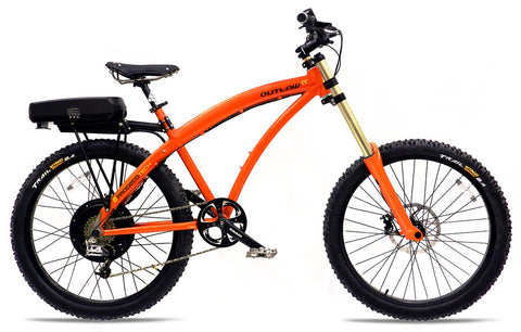 ProdecoTech Outlaw SS V3.5 8Speed Electric Bicycle Aluminum Frame 750W - Buy Online