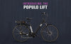 Image of Populo Lift 350W 36V 10.4Ah LED Folding Electric Bike - Buy Online