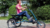 Image of Pfiff Scooter Trike L (Long) Adult Tricycle, Blue
