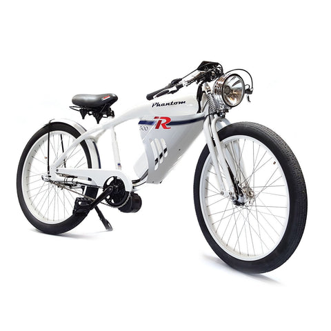 Phantom Bikes Phantom R 3 Speed 500W 48V Retro Electric Bike - Buy Online