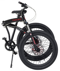 PRODECOTECH PHANTOM X2 V5 36V 500W 8 Speed Folding Electric Bicycle