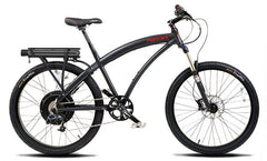 PRODECOTECH PHANTOM X3 Rigid Frame V5 36V 500W 8 Speed Electric Bike - Buy Online