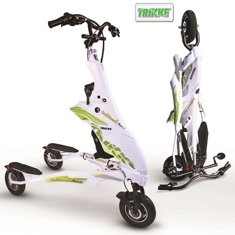 TRIKKE PON-E 48V DELUXE Electric Scooter - 350W, Foldable - Buy Online