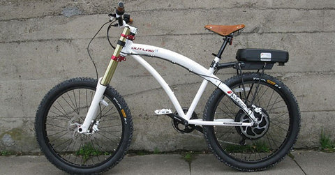 PRODECOTECH OUTLAW SE V3.5 8 Speed Rigid Frame Electric Bicycle - Buy Online