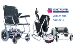 Heartway P15S Puzzle Portable Foldable Electric Wheelchair
