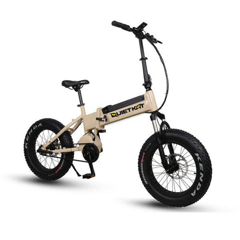 2018 Quietkat Fatkat Bandit 48V 750W Fat Tire Electric Bike, 18QKFM750BHHH - Buy Online