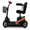 Image of EV RIDER RIDERXPRESS Electric Mobility Scooter, Blue/Silver/Orange - Buy Online