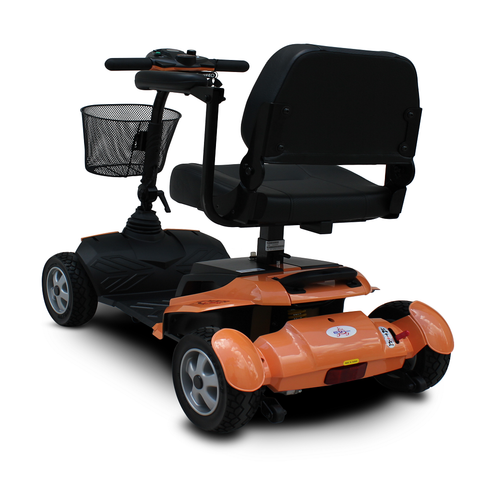 EV RIDER RIDERXPRESS ELECTRIC MOBILITY SCOOTER, BLUE/SILVER/ORANGE - Speednscooter