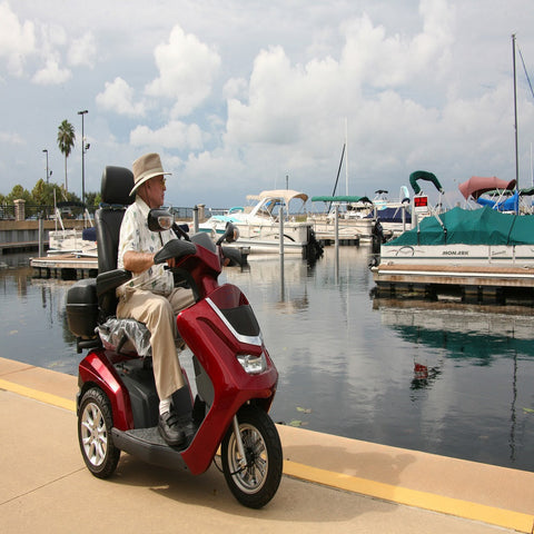 EV RIDER ROYALE 3 Electric Mobility Scooter, ROYALE3-15K-SGL - Buy Online