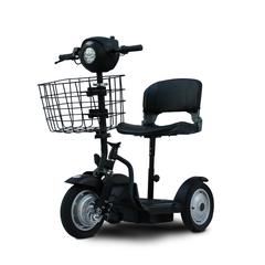 EV RIDER STAND-N-RIDE Electric Mobility Scooter, BLACK, EV-SNR