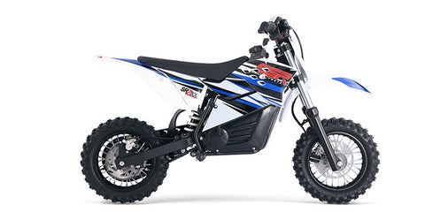 SSR Motorsports SRZ800 800W Lithium Powered Electric Dirt Pit Bike - Buy Online