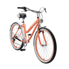 Body Glove Santorini 26.7 Women'S Cruiser Bicycle, Orange