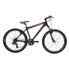 Lombardo Sestriere 300M 26 Men'S Mountain Bicycle, 99% Assembled, Black/Red - Buy Online