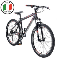 Lombardo Sestriere 300M 26 Men'S Mountain Bicycle, 99% Assembled, Black/Red