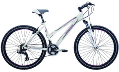 Lombardo Sestriere 300L 26 Women'S Mountain Bike, 99% Assembled, White/Grey - Buy Online