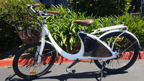 Phantom Bikes Swirl Step Through 350W 48V Electric Bike - Buy Online