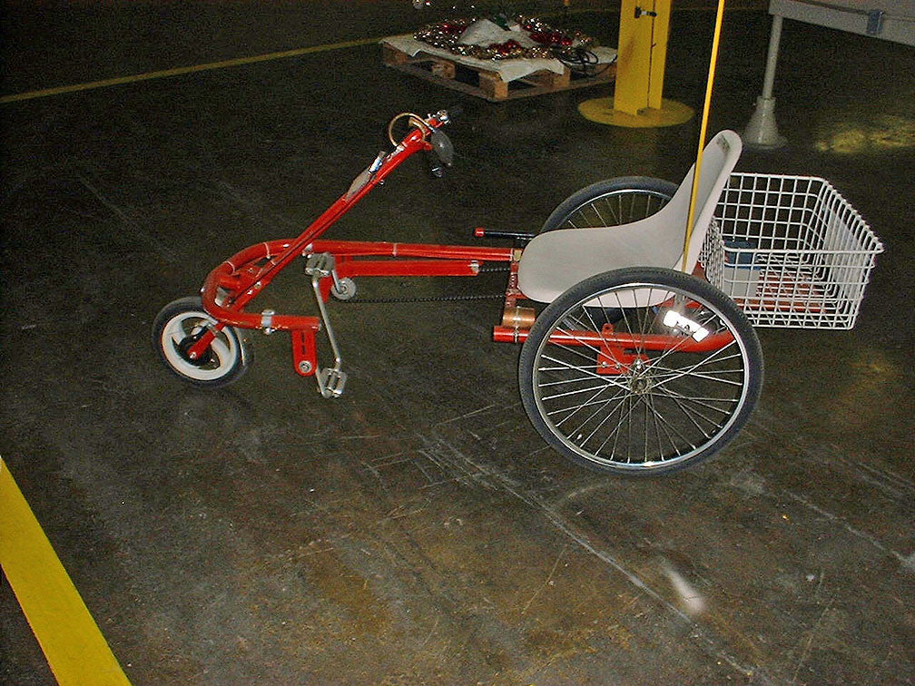 Trailmate Joyrider 24 Quot Wheel Step Through Trike Free