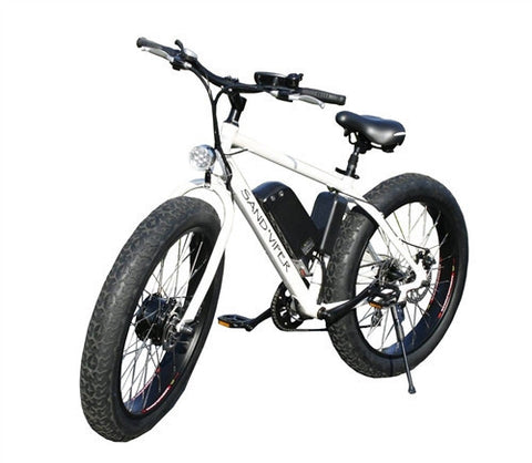 SSR Motorsports Sand Viper 500W Lithium Powered Fat Tire Electric Bike - Buy Online