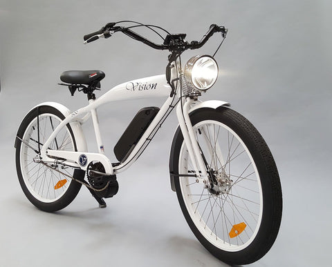 Phantom Bikes Vision 3 Speed 500W 48V Retro Lithium Electric Bike - Buy Online
