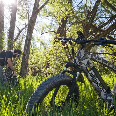 2018 Quietkat Fatkat Warrior 48V 1000W Fat Tire Electric Bike, 18QKM1000CCHM - Buy Online
