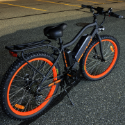 Big Cat Wild Cat (Ghost Rider) 500W 48V Lithium Powered Electric Bike - Buy Online