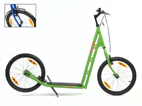 SIDEWALKER WILLY Adult Scooter, BLUE/GREEN/RED/YELLOW/BLACK - Buy Online