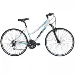 Head Revive XSL Women'S 700C Step-Through Hybrid Road Bicycle, White - Buy Online