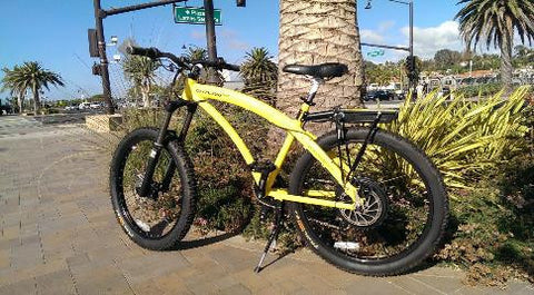 PRODECOTECH OUTLAW 1200 9 Speed Rigid Frame Electric Bicycle - 1200W - Buy Online