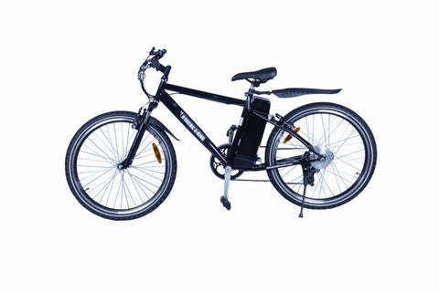 X-Treme Alpine Trails Electric Mountain Bike - 300W Affordable Pedal Assist/Twist Throttle Electric Mountain Bike - Buy Online