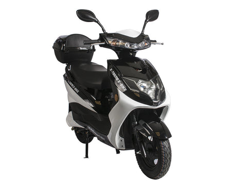 X-Treme Cabo Cruiser Electric Bike Moped - Long Range Moped With 20 AMP Battery System - Buy Online