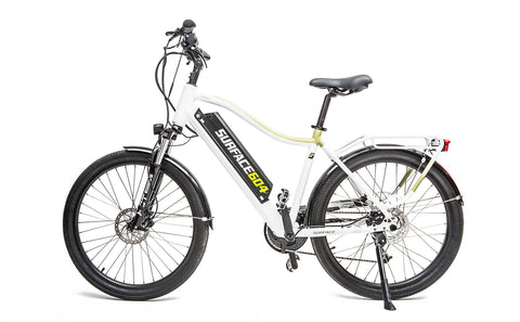 Surface 604 Colt 500W 48V Suspension Lithium Electric Cruiser Bike - Buy Online