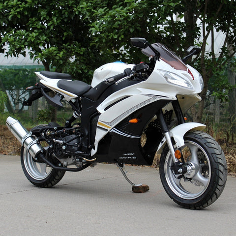 Dongfang Motor 50CC Gas Motorcycle Scooter DF50SST - Buy Online