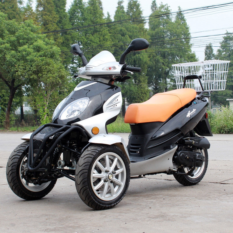 Dongfang Motor 50CC Gas Trike Tricycle DF50TKA