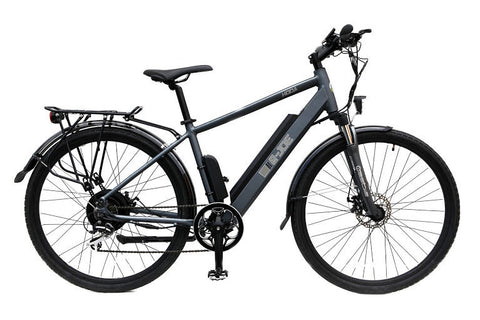 2016 E-JOE KODA Electric Bike - Aluminum Frame Titanium Gray Commuter E-Bike - Buy Online