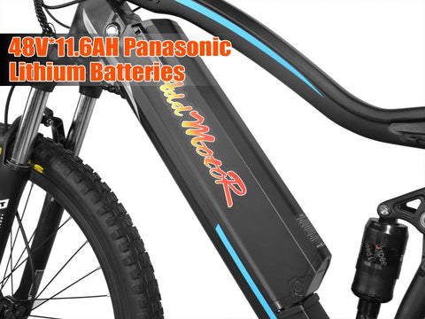 Addmotor Hithot H1 Platinum 500W 48V 11.6Ah Electric Mountain Bike - Buy Online