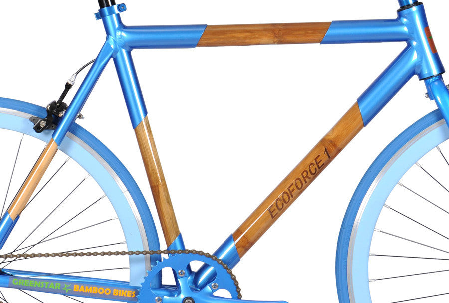 Greenstar Bikes EcoForce 1 Single Speed Bamboo Bicycle – SpeednScooter