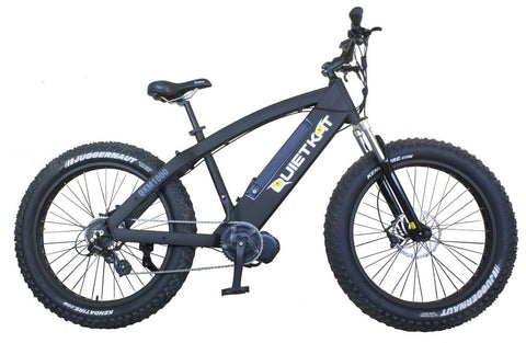 2017 Quietkat Fatkat 1000-X 48V 1000W Fat Tire Electric Bike, QKM1000-BB